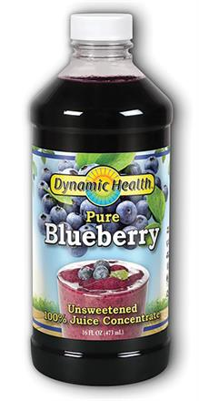 Dynamic Health <br> Blueberry Concentrate Liquid